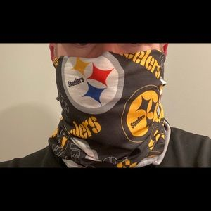 Pittsburgh Steelers Face Mask and or Scarf